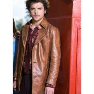 Brand New Alice Mad Hatter Distress Brown Blazer Coat