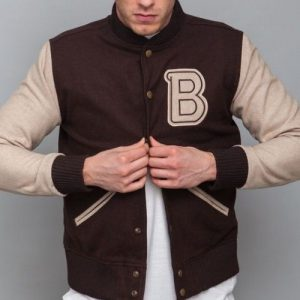 Hotline Miami Varsity Style Brown Jacket